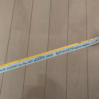 トリプルエー(AAA)のShuta Sueyoshi 銀テープ グリーン(ミュージシャン)