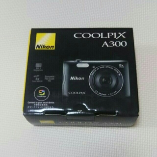 Nikon - ニコン COOLPIX A300 ブラック