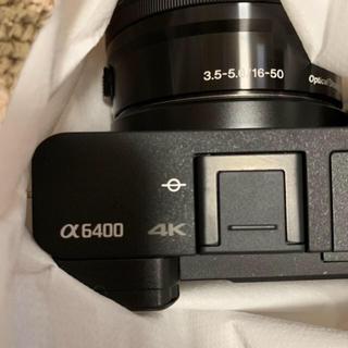 ソニー α6400 ボディ ブラック 即購入可能 在庫 3台 (ミラーレス一眼)