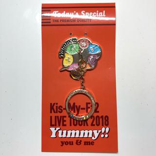 キスマイフットツー(Kis-My-Ft2)のキスマイ スマホリング yummy‼︎2018グッズ(アイドルグッズ)