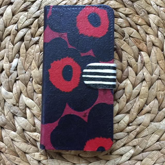 iphone 6ケース おしゃれ ユニーク | marimekko - iPhone7.8 ハンドメイド マリメッコ 手帳携帯ケースの通販 by さとみさくら's shop|マリメッコならラクマ