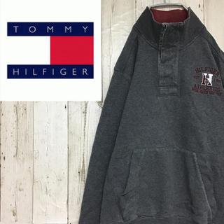 トミーヒルフィガー(TOMMY HILFIGER)の【トミーヒルフィガー】【ロゴ刺繍】【ビッグワンポイント】【スウェット】(スウェット)