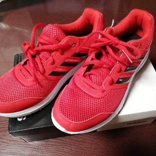 アディダス(adidas)のadidas ADデュラモLMRD5023 レッドBK(スニーカー)