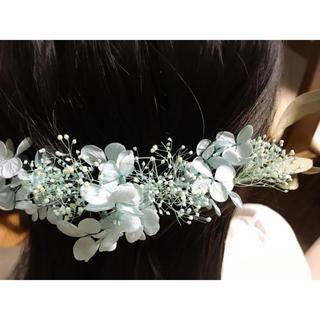 髪飾り プリザーブドフラワー(ヘアピン)