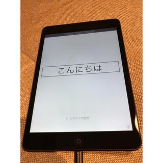 アイパッド(iPad)のipad mini 初代 16GB(タブレット)
