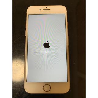 アップル(Apple)のSIMフリーiPhone7 rose gold 128GB au(スマートフォン本体)