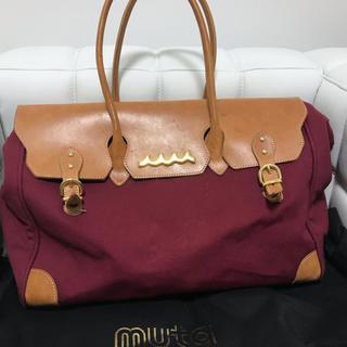 ムータマリン ハンドバッグ