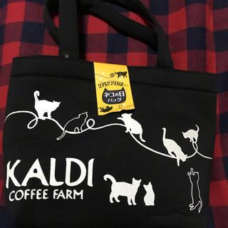 カルディ(KALDI)のカルディ ネコの日バック 2019(トートバッグ)
