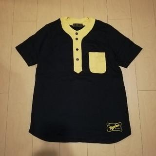 トイプレーン(TOYPLANE)のToyplane baseball tee トイプレーン 2トーン ベースボール(Tシャツ/カットソー(半袖/袖なし))