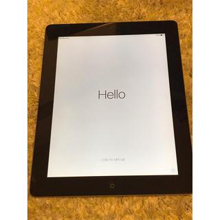 アイパッド(iPad)のiPad 2 16GB 黒 MC773J/A + 中古ケース付き(タブレット)
