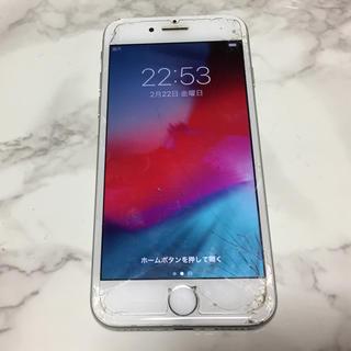 アップル(Apple)の【simロック・アクティベーション解除済】iPhone7  128GB シルバー(スマートフォン本体)