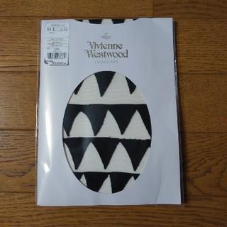 ヴィヴィアンウエストウッド(Vivienne Westwood)のVivienneWestwood ヴィヴィアン クロコダイルトゥース タイツ(タイツ/ストッキング)