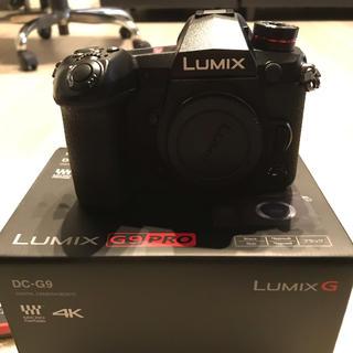 パナソニック(Panasonic)の☆ほぼ新品☆G9pro(DC-G9)+Leica12-60f2.8-4.0など(ミラーレス一眼)