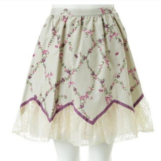 ミルク(MILK)の【タグ付き】MILK spring ラビットスカート(ひざ丈スカート)
