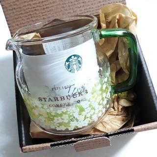 スターバックスコーヒー(Starbucks Coffee)の韓国スタバ スプリング サーバー グラス(容器)