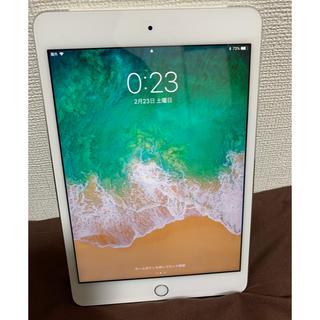 アップル(Apple)のipad mini 4 64GB シルバー(タブレット)