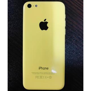 アップル(Apple)のiphone 5c Yellow 32G(スマートフォン本体)