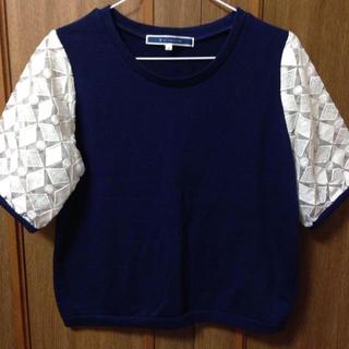 ジエンポリアム(THE EMPORIUM)の袖シースルーシャツ(Tシャツ(半袖/袖なし))
