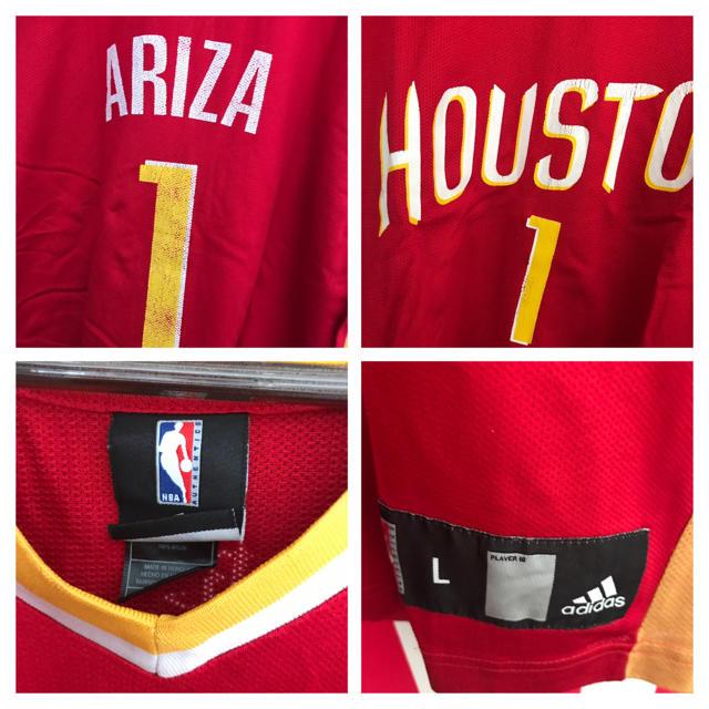 adidas(アディダス)のUSA古着 アリーザ #1 NBA ユニフォーム L スポーツ/アウトドアのスポーツ/アウトドア その他(バスケットボール)の商品写真