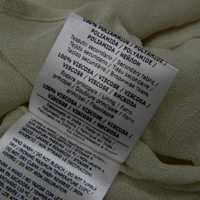 TWIN-SET(ツインセット)のTWIN-SET チュール×シースルー7分袖カットソー S レディースのトップス(カットソー(長袖/七分))の商品写真