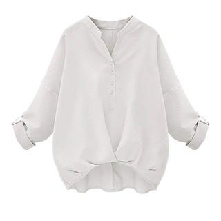 シンプルドルマン袖ゆったりブラウスシャツ(シャツ/ブラウス(長袖/七分))