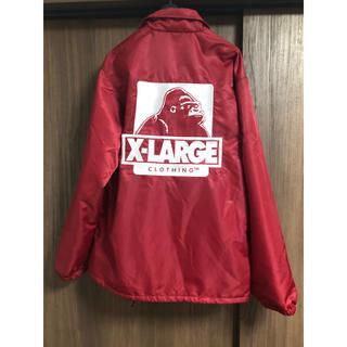エクストララージ(XLARGE)のX-LARGEコーチジャケット(ナイロンジャケット)