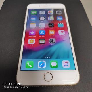 アイフォーン(iPhone)のau SIMロック iPhone 7 Plus 128GB ゴールド 美品(スマートフォン本体)