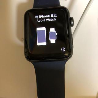 アップルウォッチ(Apple Watch)のApple Watch Series 3(GPS+Cellular)42mm (その他)