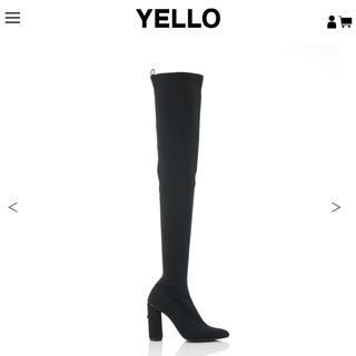 イエローブーツ(Yellow boots)のtokyo black long(ブーツ)