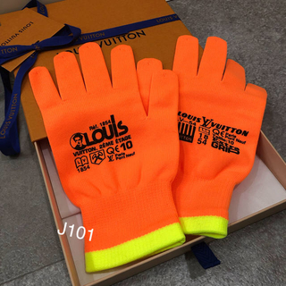 ルイヴィトン(LOUIS VUITTON)のルイヴィトン 19SS 手袋 グローブ ヴァージルアブロー(手袋)