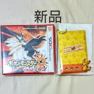 ニンテンドウ(任天堂)の新品未開封 ポケットモンスター ウルトラサン 3DS   特典パスケース付き(携帯用ゲームソフト)