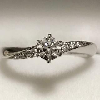 【美品】最終お値下げ!ラザールダイヤモンド Pt950ダイヤモンドリング(リング(指輪))