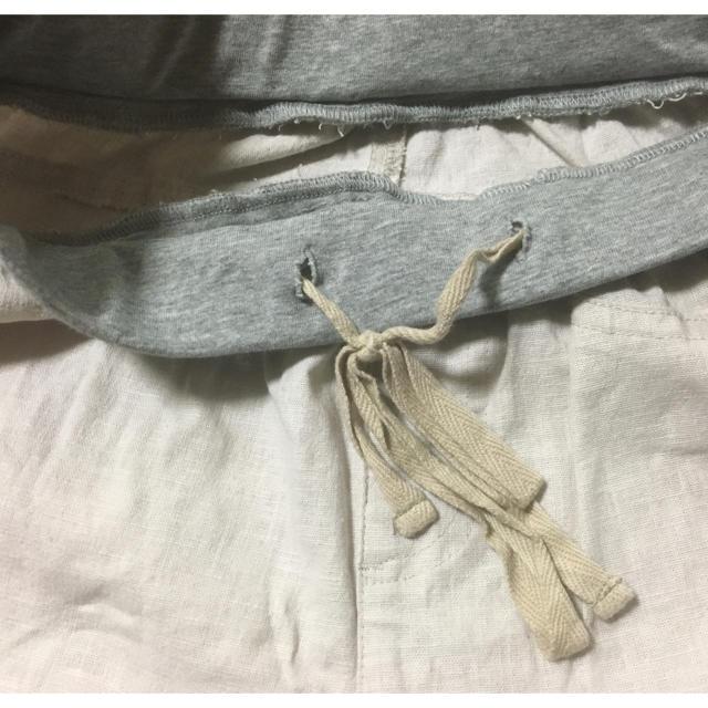 ベルメゾン(ベルメゾン)の麻と綿素材のレギパン レディースのパンツ(カジュアルパンツ)の商品写真