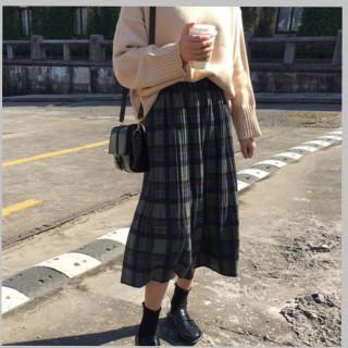 ☆売れ筋☆ロング丈 プリーツスカート レディース 大人気(ロングスカート)