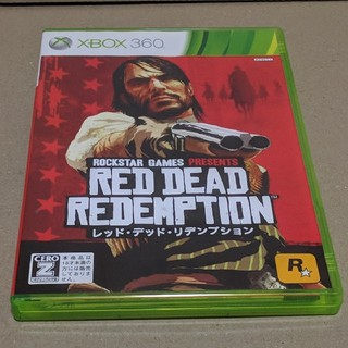 エックスボックス360(Xbox360)のXBOX 360 レッド・デッド・リデンプション (日本語版)  (家庭用ゲームソフト)