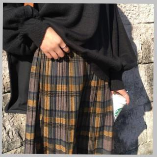 ☆売れ筋☆ロング丈 プリーツスカート レディース (ロングスカート)