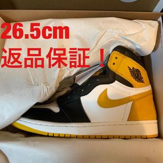 ナイキ(NIKE)のNIKE AIR JORDAN 1 yellow ochre 26.5cm(スニーカー)