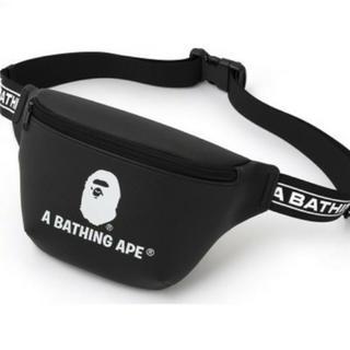 アベイシングエイプ(A BATHING APE)の美品 A bathing ape エイプ ショルダーバッグ ウエストバック(ショルダーバッグ)