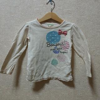 サンカンシオン(3can4on)の100cm  Tシャツ 長袖(Tシャツ/カットソー)