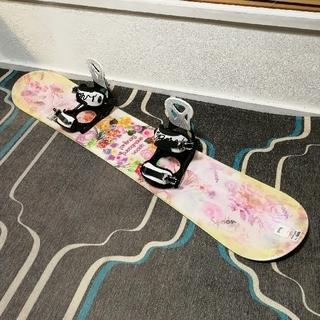 スノーボード スプーン 子供 ジュニア キッズ ビンディング セット 新品(ボード)
