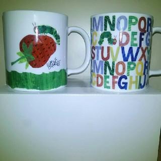 ニッコー(NIKKO)のニッコー はらぺこあおむし ペアマグカップ(グラス/カップ)