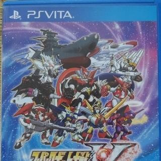 プレイステーションヴィータ(PlayStation Vita)のスーパーロボット大戦v(携帯用ゲームソフト)