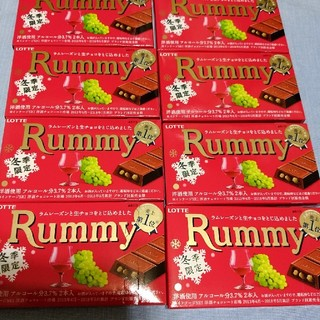LOTTE冬期限定Rummy8個セット商品(菓子/デザート)
