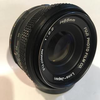 富士フイルム - 希少品!FUJINON 55mm F2.2 バブルボケレンズ