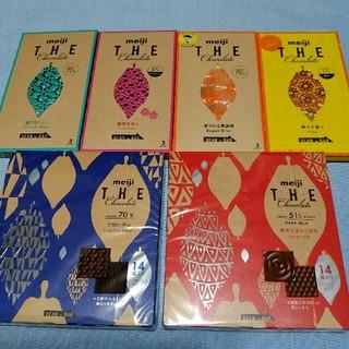 meijiのTHEチョコレート6種類セット商品(菓子/デザート)