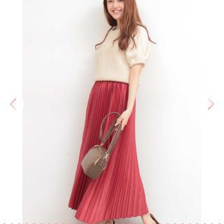 エヌナチュラルビューティーベーシック(N.Natural beauty basic)のN. NATURAL BEAUTY BASIC プリーツスカート(ロングスカート)