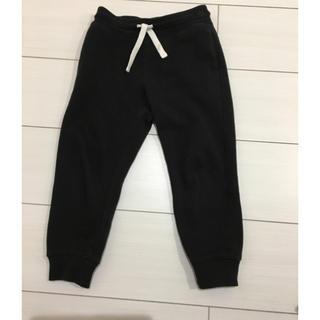 エイチアンドエム(H&M)のH&M 黒パンツ 110センチ(パンツ/スパッツ)