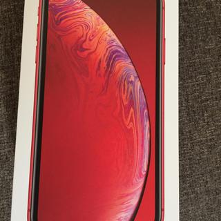 アップル(Apple)のiPhone XR (スマートフォン本体)