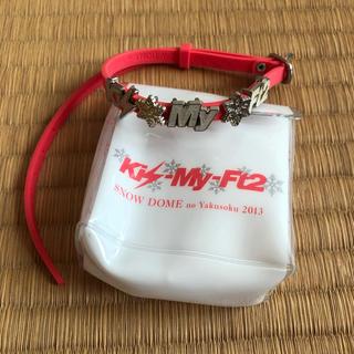 キスマイフットツー(Kis-My-Ft2)のSNOW DOMEの約束 ブレスレット(アイドルグッズ)