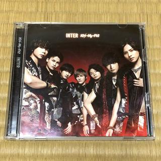 キスマイフットツー(Kis-My-Ft2)のINTER  初回盤A(アイドルグッズ)